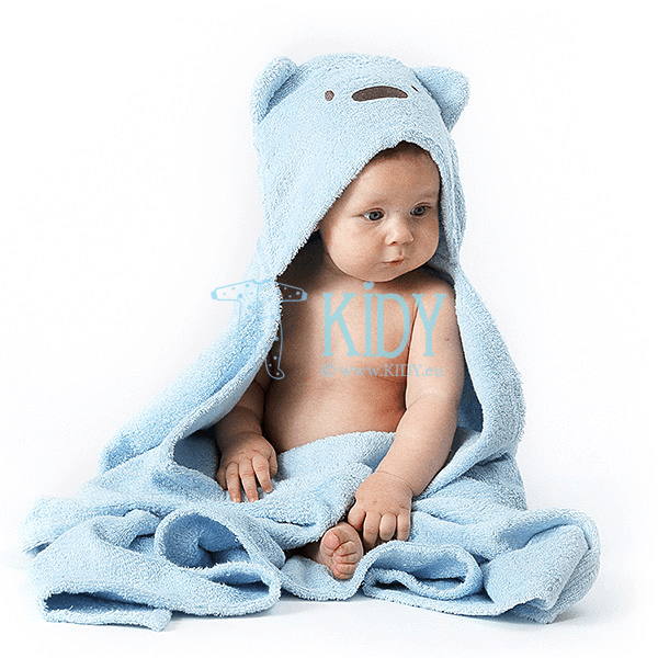 Blue MESKUTIS hooded towel