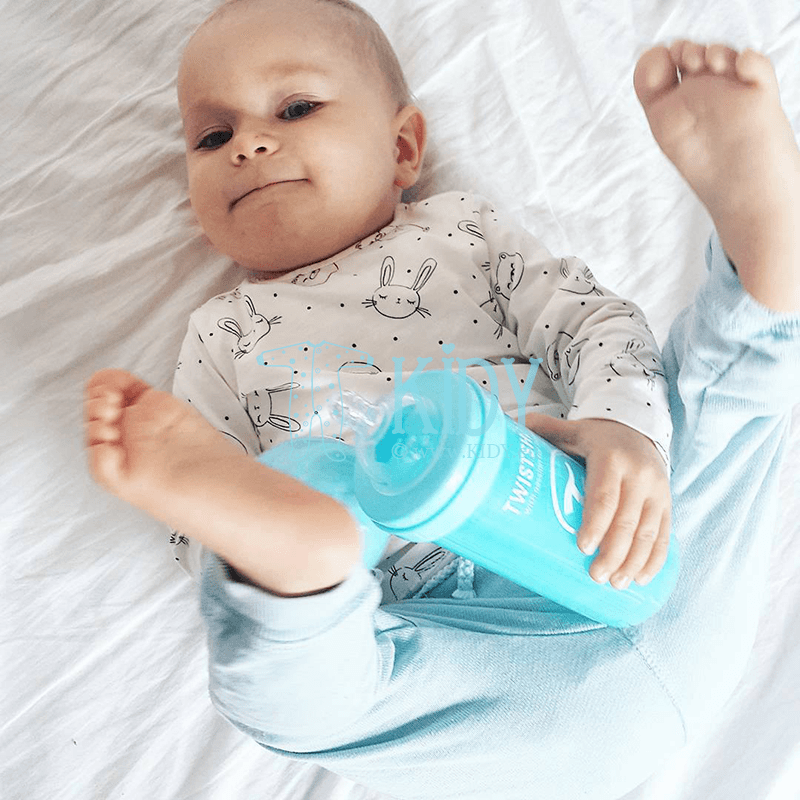 Blue ANTI-COLIC feeding bottle