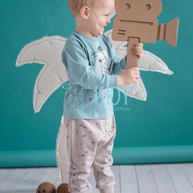 Бежевые штанишки LEON (Pinokio) 3