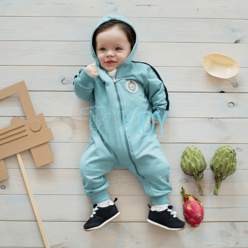Turquose LEON overall