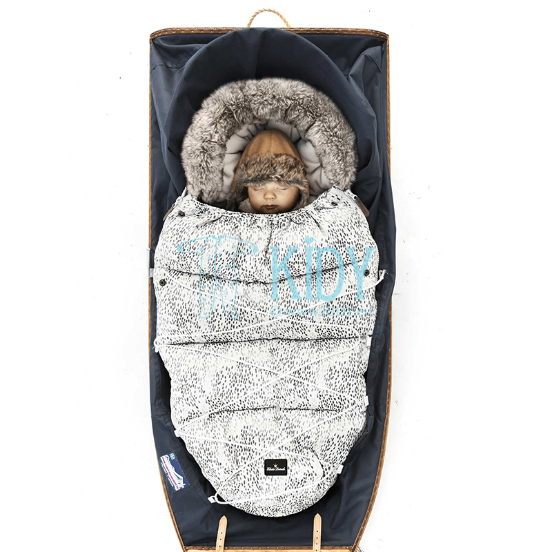Pilkas žieminis vokelis DOTS OF FAUNA
