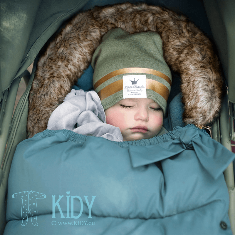 Winter PRETTY PETROL stroller bag (Elodie Details) 3