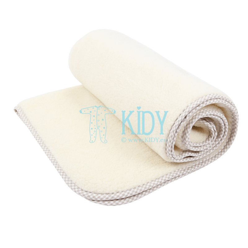 Vaiška merino vilnos antklodė VANILLA