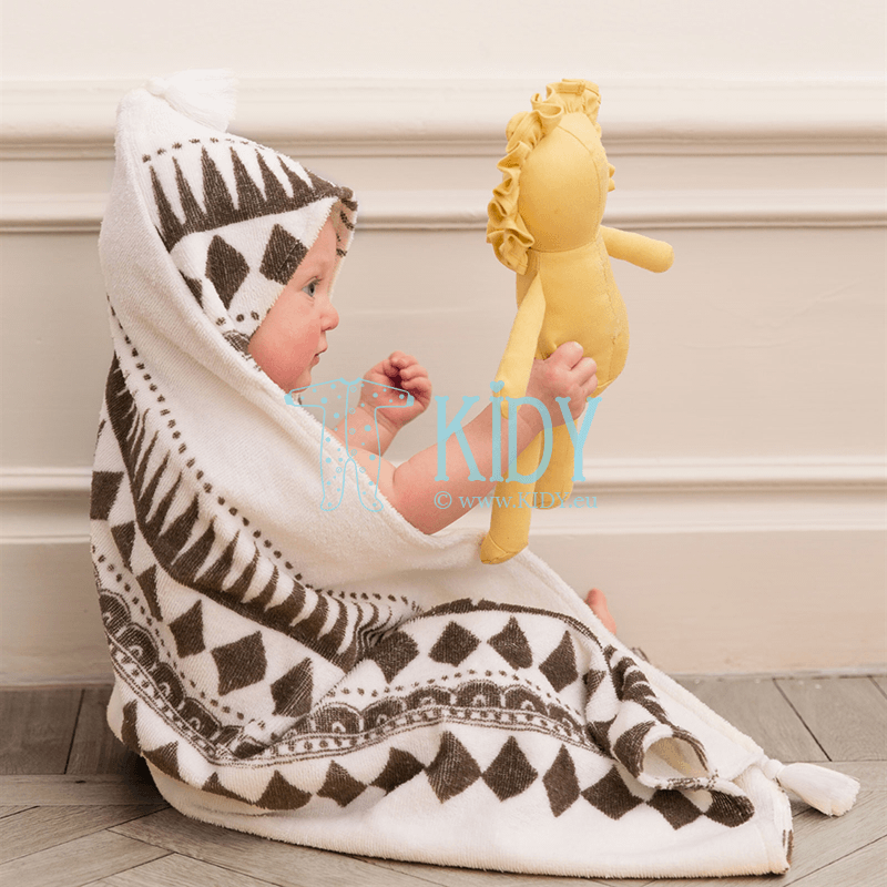 Hooded GRAPHIC DEVOTION towel (Elodie Details) 3