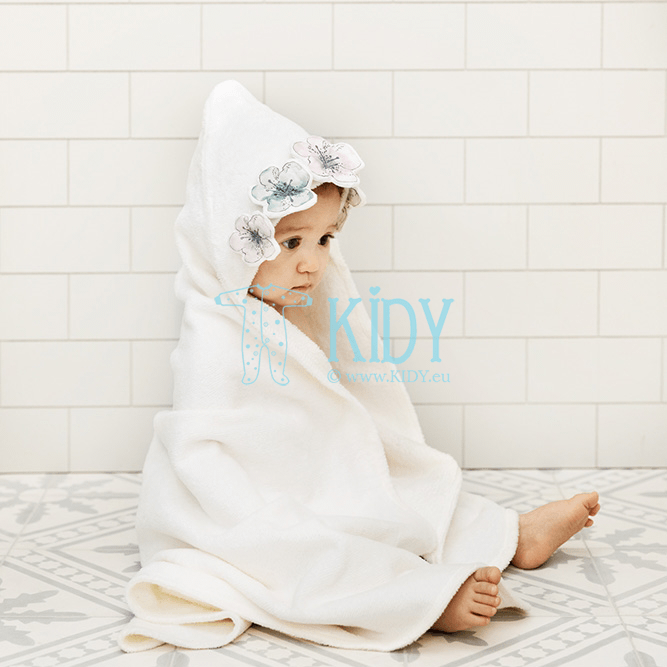 Hooded EMBEDDING BLOOM towel (Elodie Details) 3