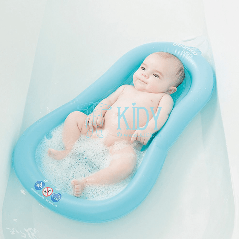 Inflatable bath mattress