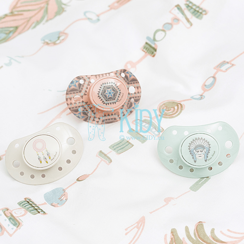 Grey DREAM CATCHER pacifier (Elodie Details) 3