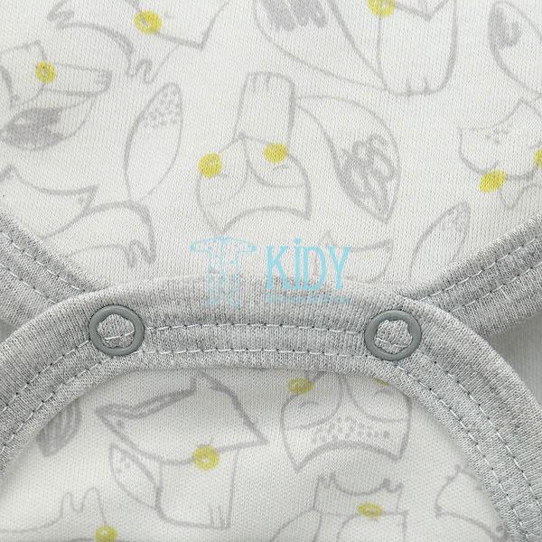 FELIX kimono bodysuit with mitts