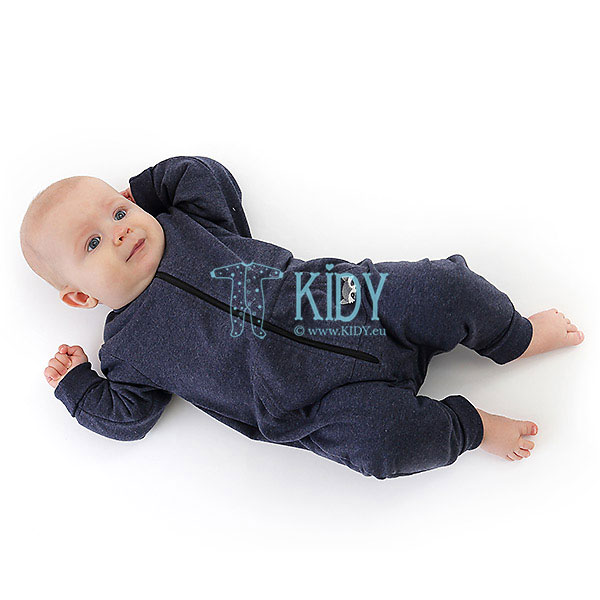 Navy BENNY playsuit