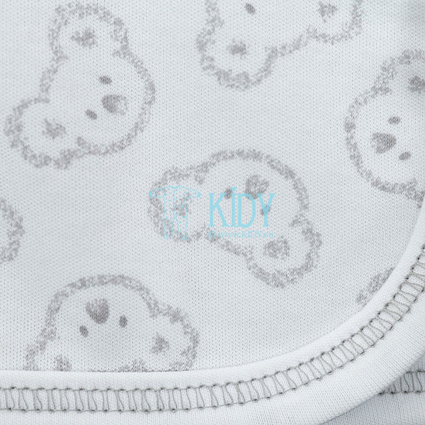 White KOALA easy-shirt with mitts