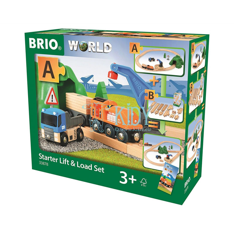 Starter Lift & Load Set (Brio) 3