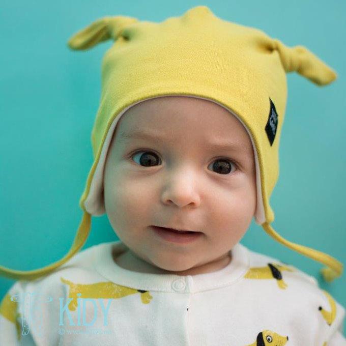 Yellow FUNNY DOG hat