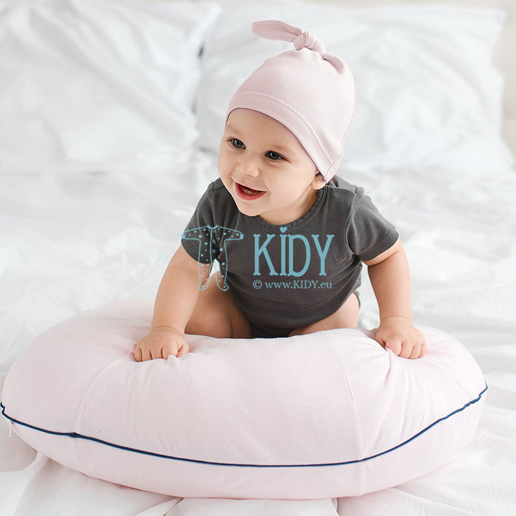 Pink nursing pillow