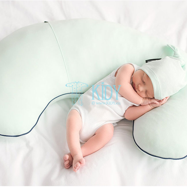 Green nursing pillow