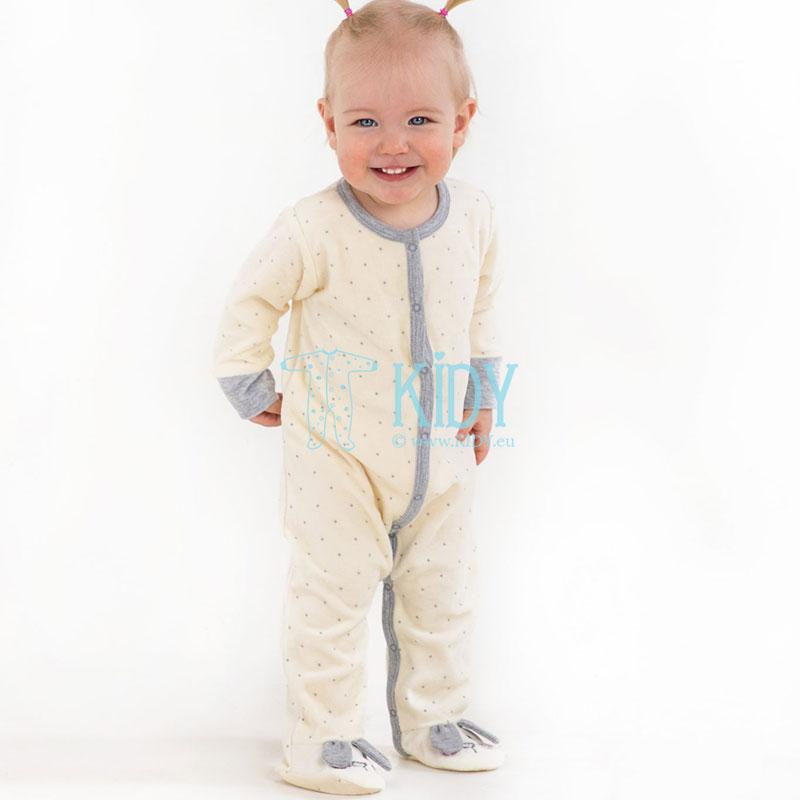 Kreminis kombinezonas-pižama LITTLE BUNNY
