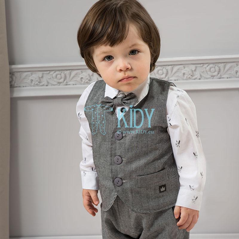 Grey PRINCE vest