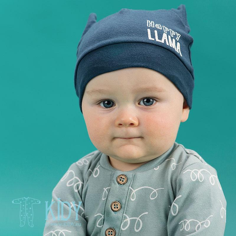Mėlyna kepurytė HAPPY LLAMA (Pinokio) 3
