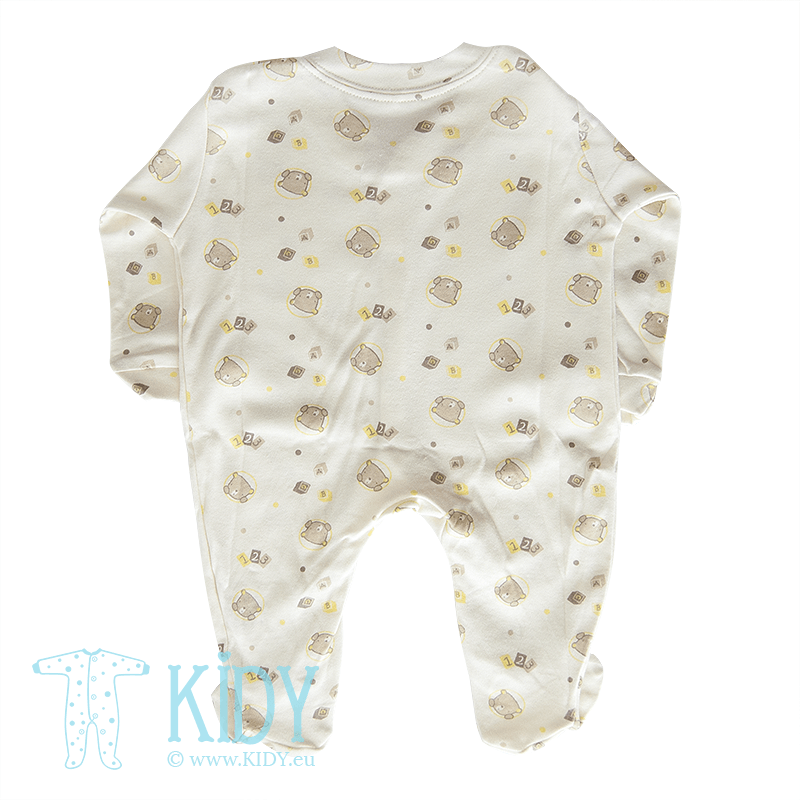 Cream sleepsuit LOVE ME (Nursery Time) 3