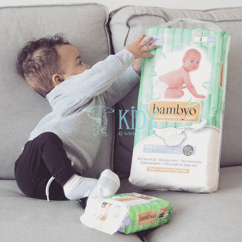 Baby BAMBYO water wipes