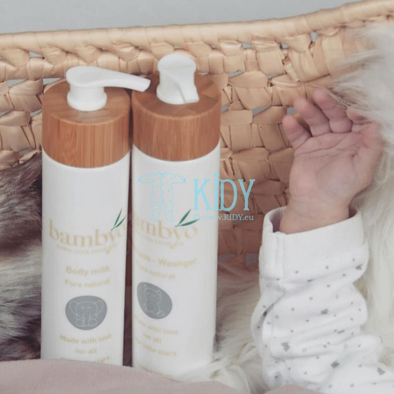 Natural BAMBYO body milk