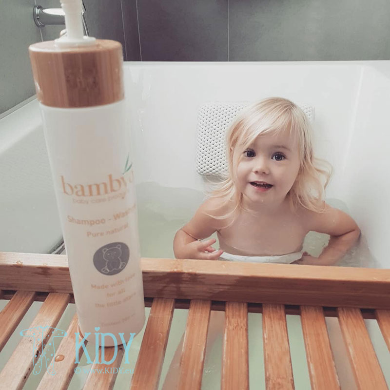 Natural Bambyo shampoo & body wash