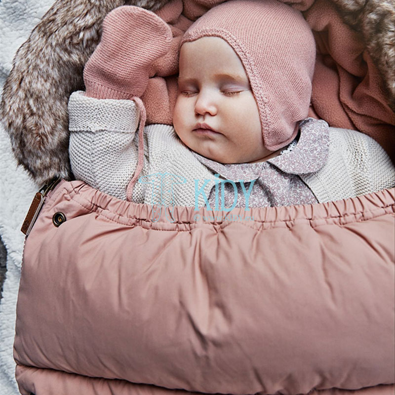 Pink winter FADED ROSE stroller bag (Elodie Details) 3