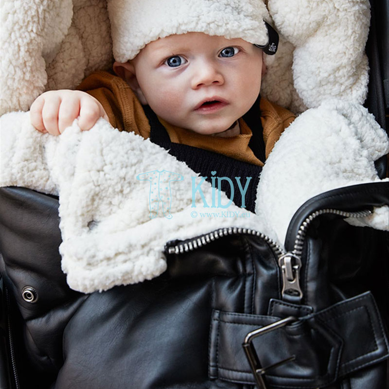 Winter AVIATOR BLACK stroller bag