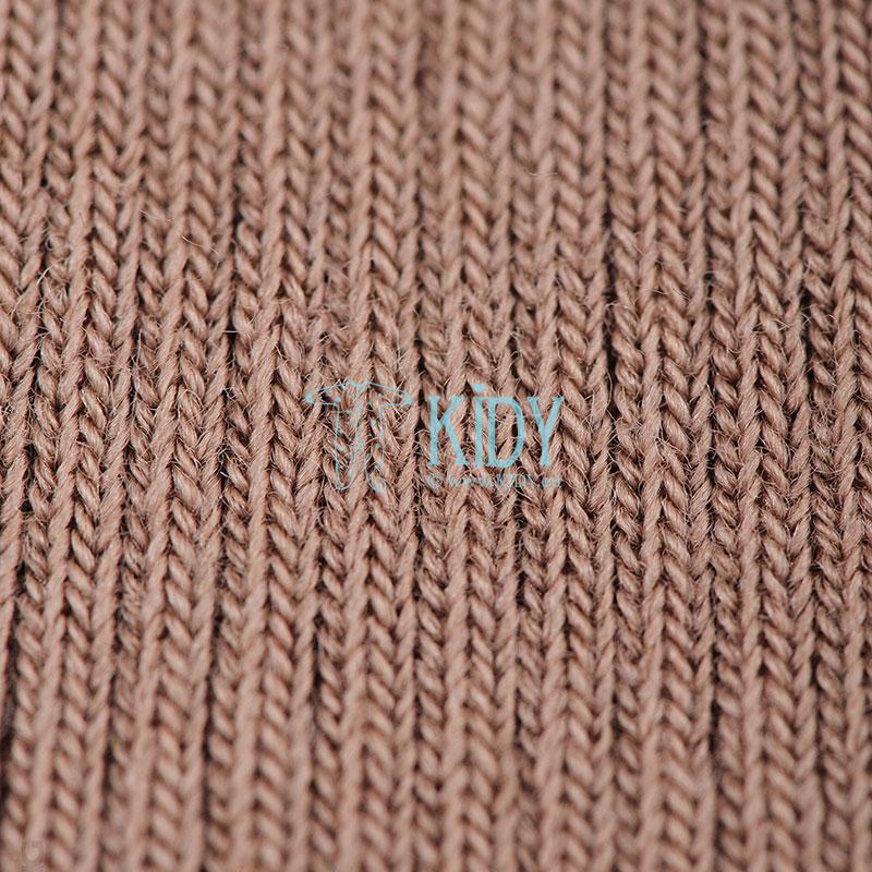 Rudos merino volnos kojinytės OLD ROSE