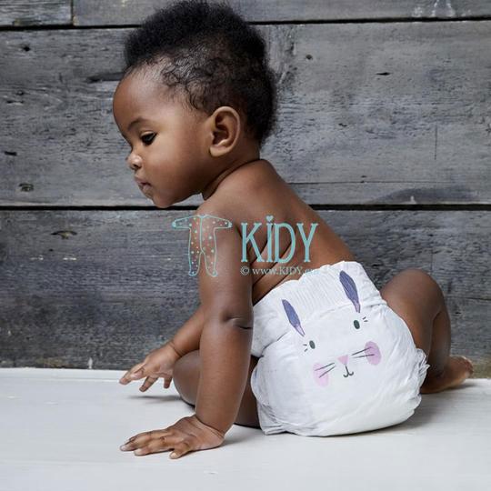 Эко подгузники для новорожденных RABBIT & LEOPARD №2