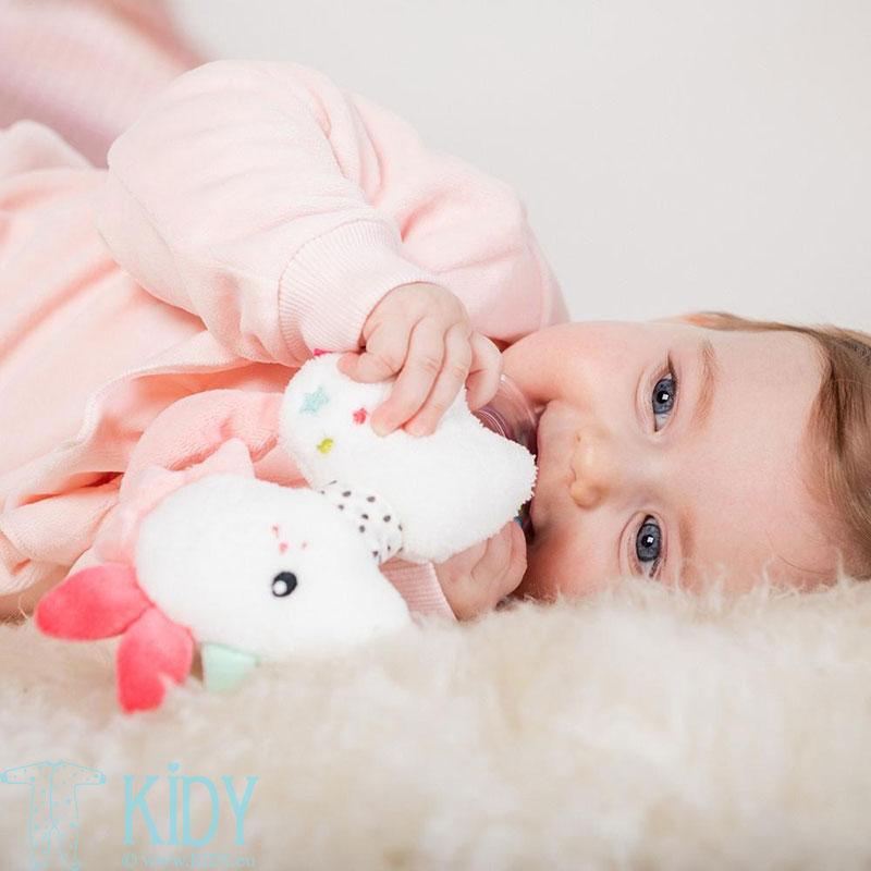 Мягкая игрушка-погремушка Unicorn