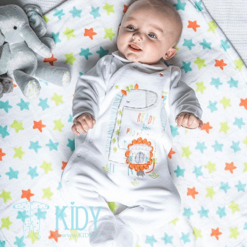 White sleepsuit ZOO (Babaluno) 3