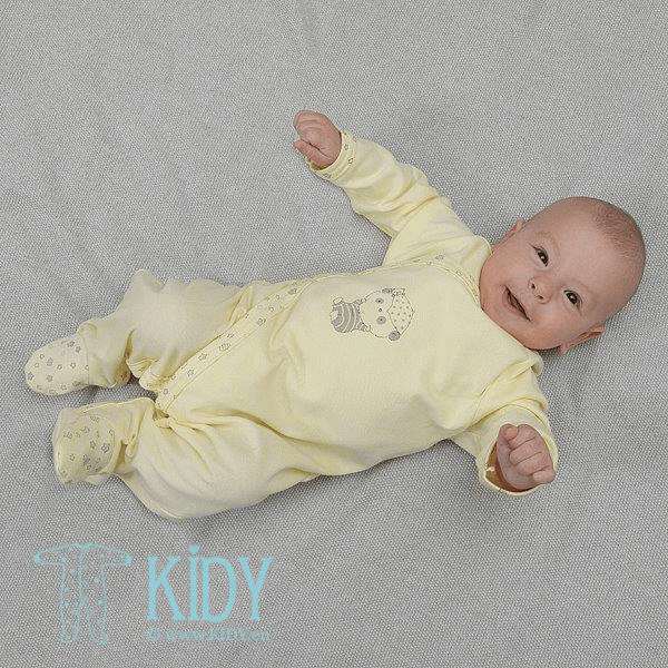 Yellow PEPPER Sleep & Play with mitts (Lorita) 3