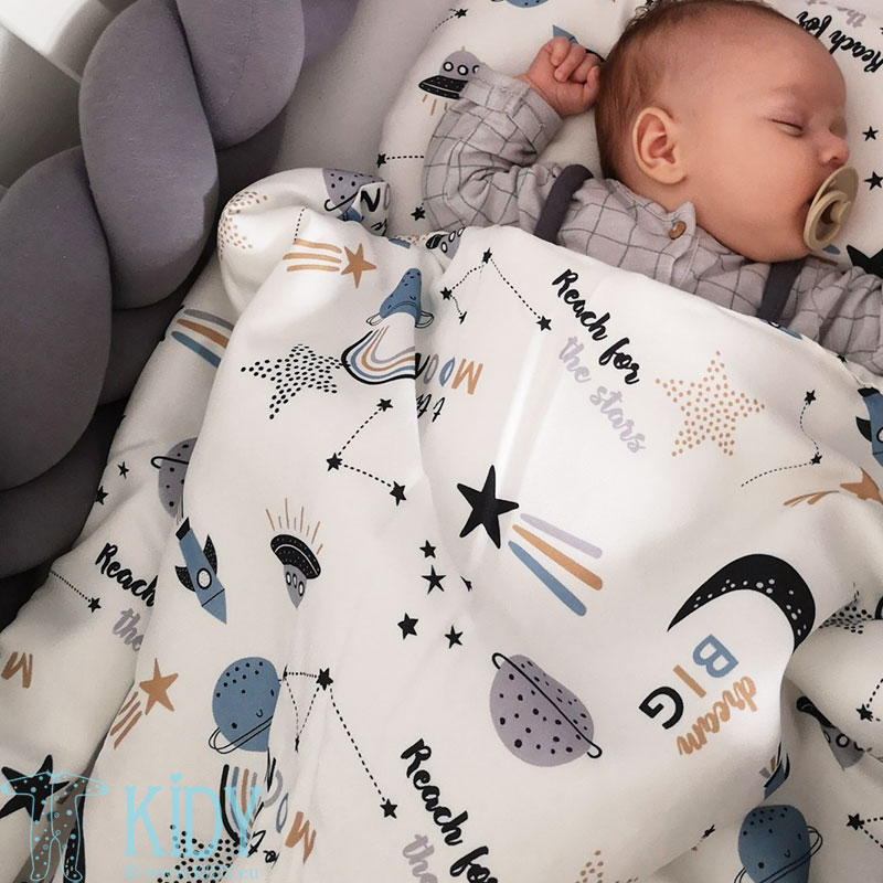 Bamboo Moon Swaddle