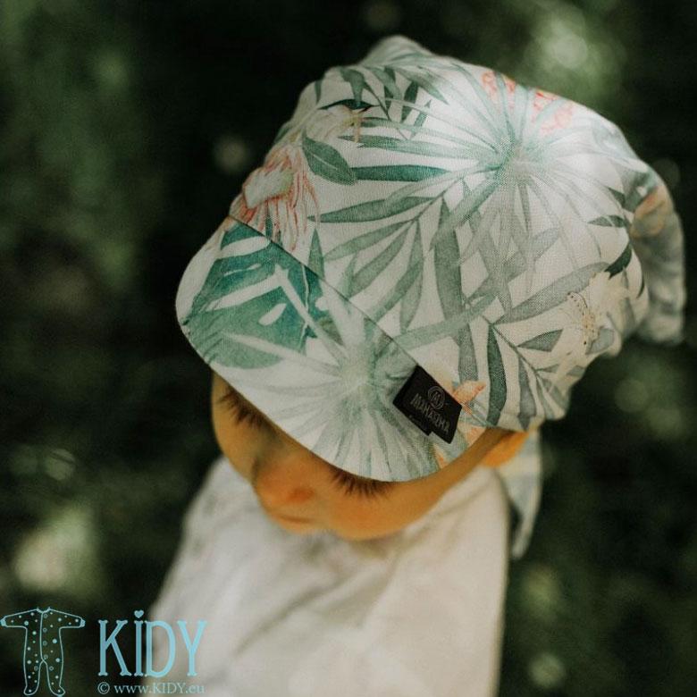 Aloha bandanna with visor