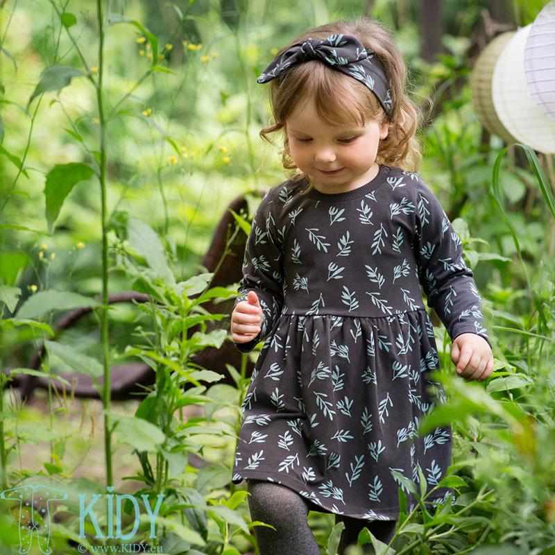 Pilka suknelė STAY GREEN