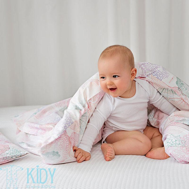 Pink BOHO bedding set