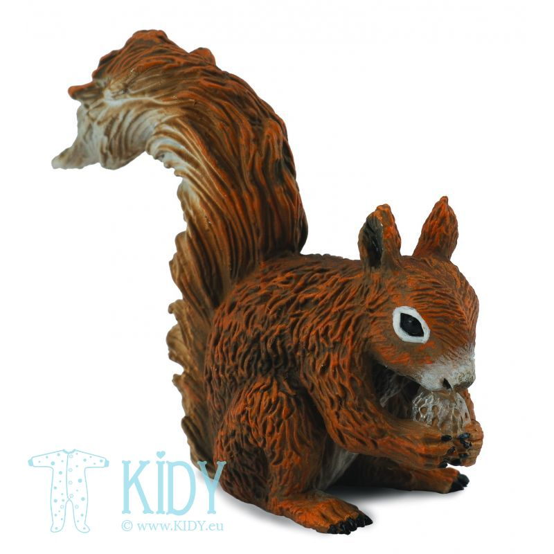 Red Squirrel - Eating (Collecta)