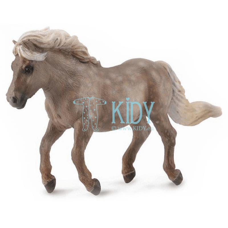 Серебрянный Шетлендский Пони (Collecta)