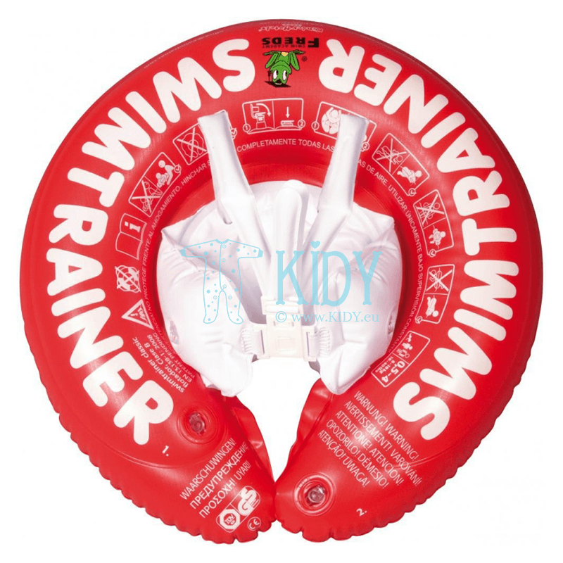 Red SWIMTRAINER Classic swimming ring (SWIMTRAINER)