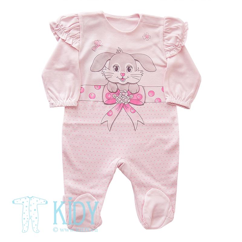 Pink Sleepsuit Lola Ewa Collection