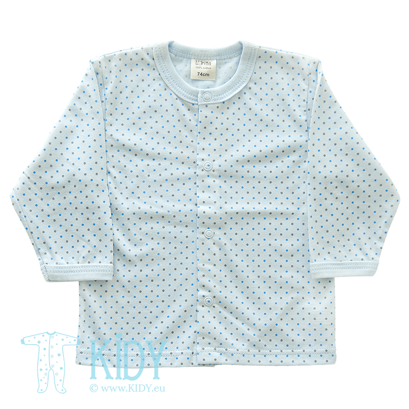 Blue shirt DOTS