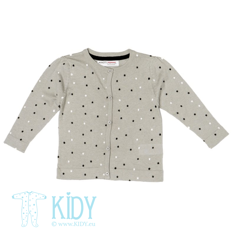 Grey cardigan STAR