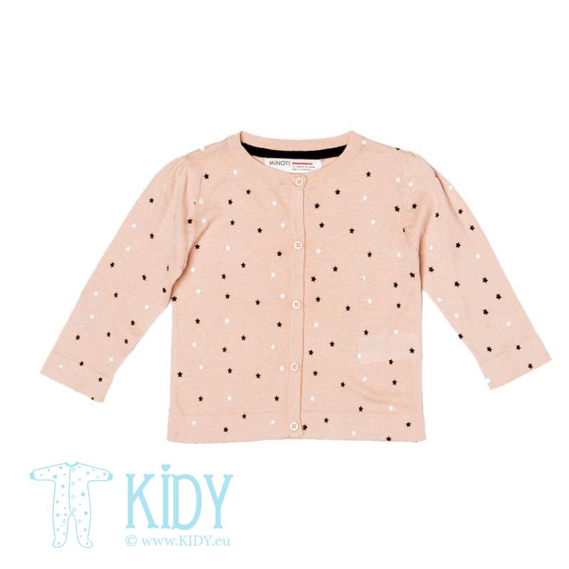 Pink cardigan STAR