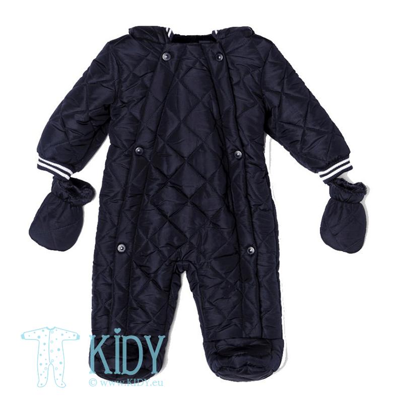 Navy snowsuit GEO with mitts