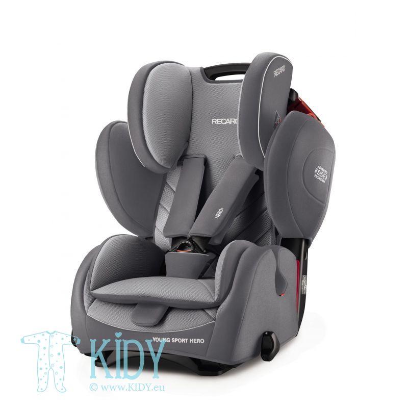 Car seat Young Sport Hero Aluminium Grey