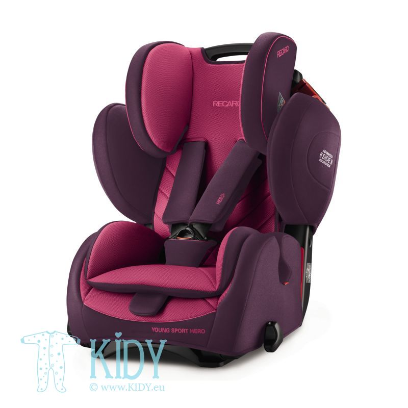 Car seat Young Sport Hero Power Berry
