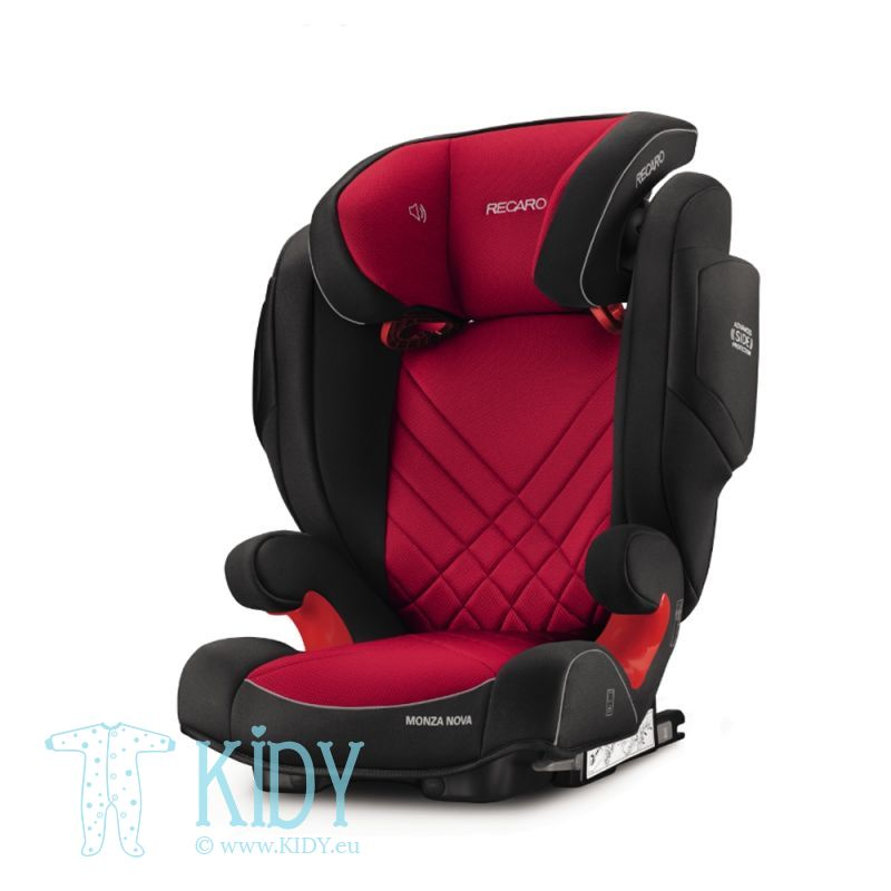 Automobilinė kėdutė Monza Nova 2 Seatfix Racing Red