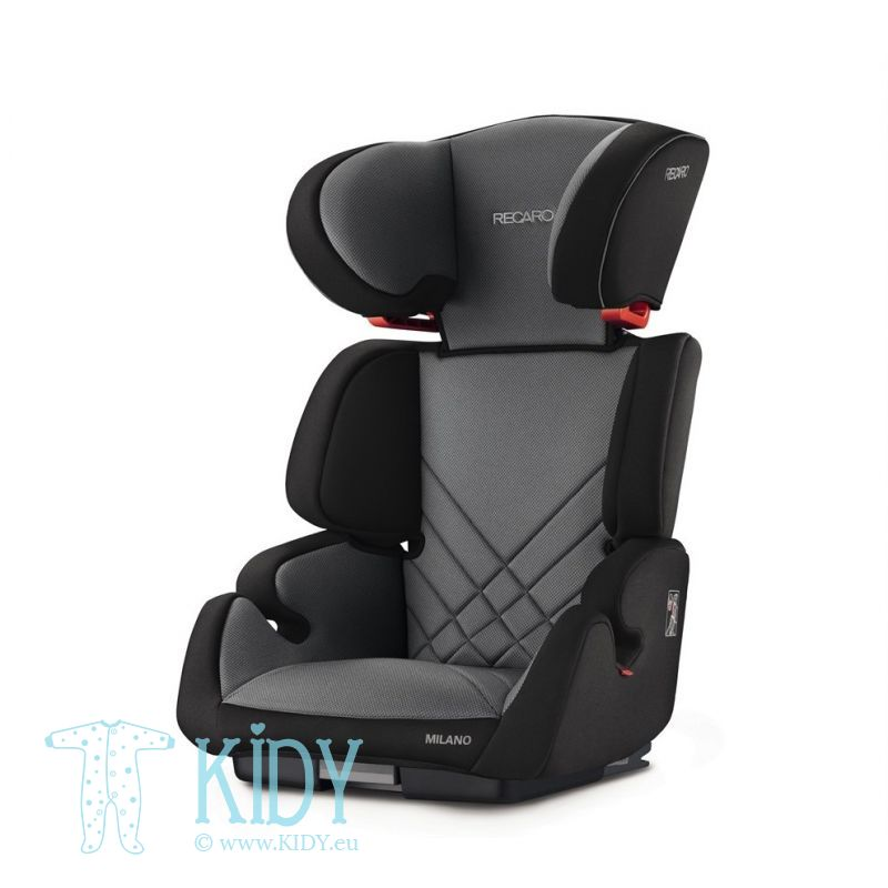 Car seat Milano Carbon Black