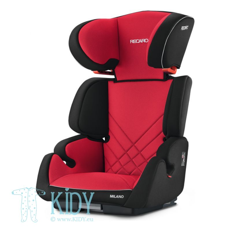 Automobilinė kėdutė Milano Racing Red