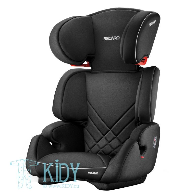 Car seat Milano Performance Black